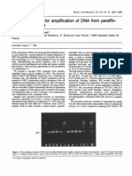 A Simple Method for Amplification of DNA From Paraffin-embedded Tissues.
