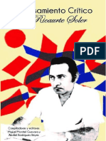 El Pensamiento Critico de Ricaurte Soler