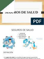 SEGUROS DE SALUD - PERÚ