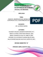 Abordaje en El Manejo Medico y Quirurgico de La Enfermedad de Peyronie-Ensayo (1)-1
