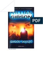 William Gibson - Mundo Espejo