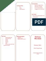 Leaflet Rokok Print