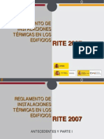 Presentación RITE 2007