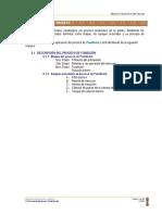 2.0 Descripción Del Proceso Fundición