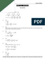 A.i.t.s. Part Test - 1 (Main) Solution - Dt. 09-11-2019
