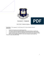 Assessment 1 - Set1