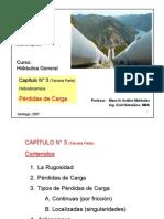 Cap 3c Pérdidas de Carga Sept 2007