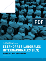 Estandares Laborales Internacionales - The Walt Disney Company