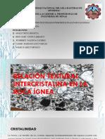 Diapositivas-De Relacion Textural Intercristalina de Las Rocas Igneas