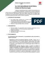 Protocolo de Seguridad Electrica UEC