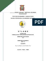 SILABO-FORMUL. Y EVALUAC-PY-EPII-2019-2