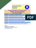 Estadisticas Trafico de Aeropuertos Diciembre 2014