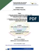 Actividad N°2. Doctrina Policial