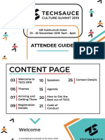 Techsauce Cultural Summit Survival Guide