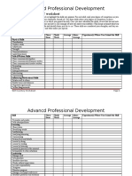 Skills Inventory Worksheet