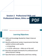 Session 2 New QP & Prof Skill, Values and Ethics
