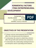Environmentalfactorsaffectingentrepreneurialdevelopment New 170827101301