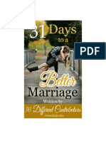 31 days of better marriage