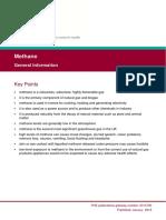 Methane PHE General Information 070119