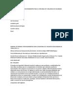 Manual de Normas y Procedimientos Para El Personal de Vigilancia de Seguridad de Venalcasa