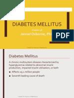 Week 1 Ch 48 Diabetes