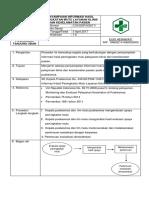 9.4.4.1 Sop Penyampaian Informasi Hasil Penigkatan Mutu Layanan Klinis Dan Keselamatan Pasien