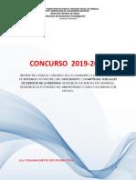 Llamado a Concurso 2019 2020.Final