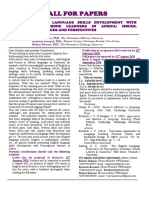 CALL FOR PAPERS - Language skills development.pdf