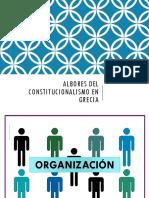 Albores Del Constitucionalismo en Grecia . Hc