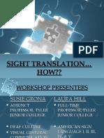 Sight Translation Powerpoint6-19