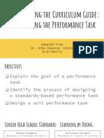2 Performance Tasks