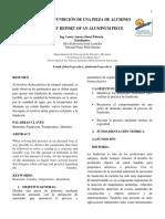 Unidad 2 Informe Fundición