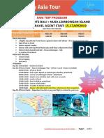3d2n Bali Nusa Lembongan Fam Trip Sgd
