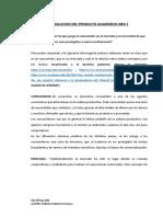 Resolucion Del Producto Academico Nro 1