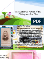 National Artist of the Philippines for Film
