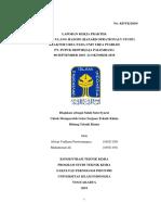 Laporan Kp Pusri 2019 (Universitas Islam Indonesia)