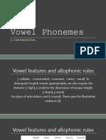 Vowel Phonemes