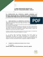 Propuesta Normas Presentación Del Tema de Trabajo de Titulación 2019 (1)