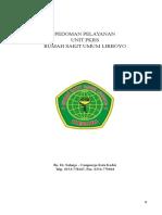 SAMPUL PEDOMAN PELAYANAN PKRS.doc