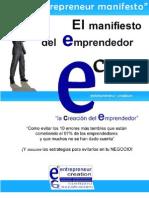 MANIFIESTO  EMPRENDEDOR