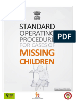 SOP for Tracing Missing Children-24.4.17
