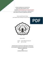 Format Laporan KK Binaan Tesa