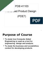Lecture 1 Design Economics