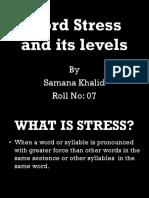 Word Stress Pnp
