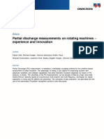 MPD 600 Article Partial Discharge Measurements on Rotating Machines Oettl 2017 ENU
