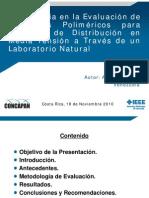 Experiencia en la Evaluación  de Aisladores Poliméricos - XXX CONCAPAN - Presentación