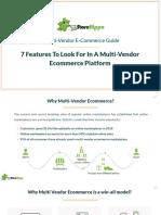 7 Non-Negotiable Features Of A Multi-Vendor Ecommerce Platform|StoreHippo