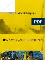 Intro to World Religions!!!2nd