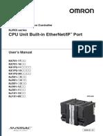 NJ NX Builtin EtherNet IP UsersMan en 201704 W506-E1-16 Tcm922-112708