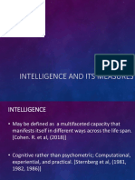 Intelligence and Its Measures 2